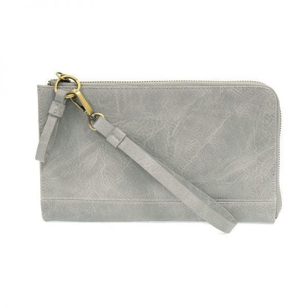So Chic Convertible Wristlet & Wallet Grey