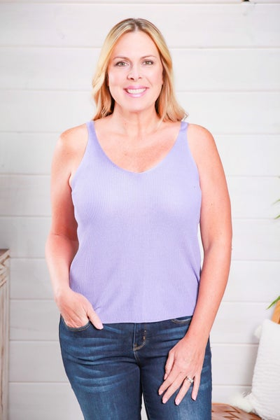 The Perfect Start Tank Lavender