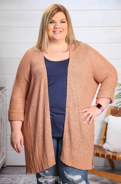 This Is Love Cardigan Camel *Final Sale*