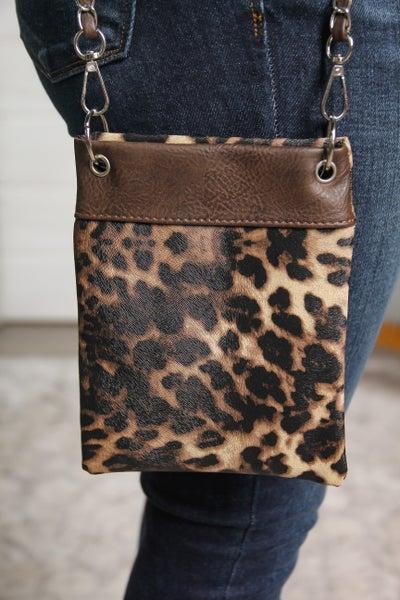 The Chic Bag Leopard *Final Sale*
