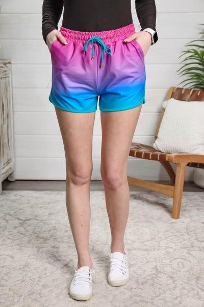 Sporty Girl Shorts Ocean Breeze