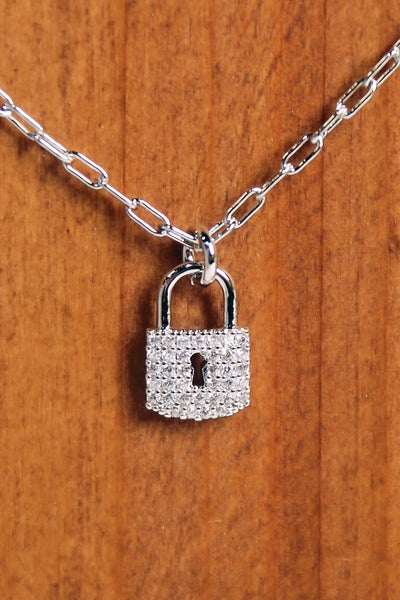 Secret To Share Necklace Silver