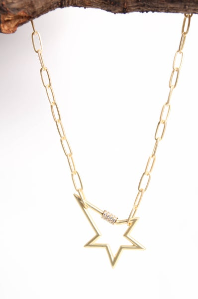 A Moment to Shine Necklace Gold