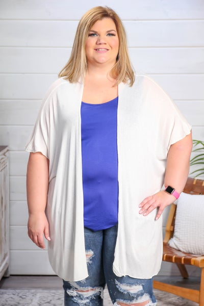 Love to Layer Cardigan Ivory