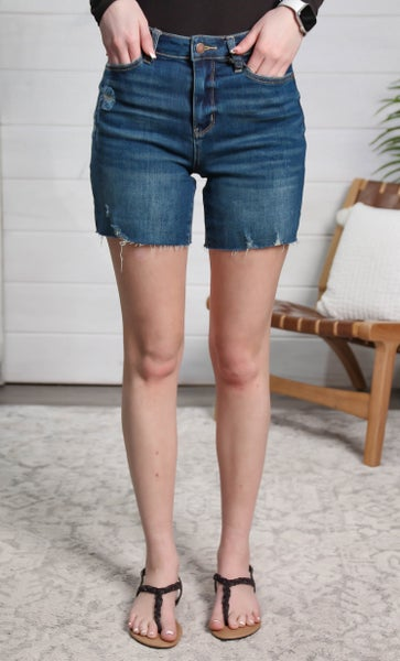A Summer Feeling High Rise Shorts