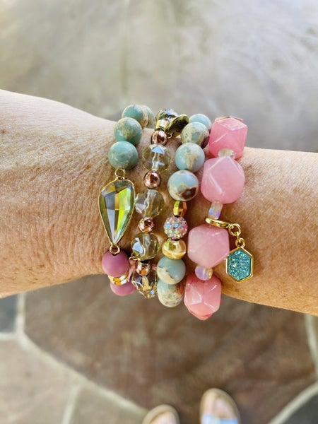 Erimish Stack Candy Pink Extended