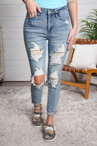 The Perfect Pair High Rise Skinny Jeans