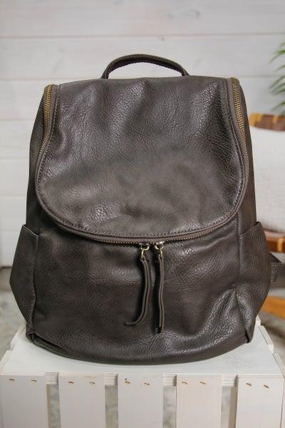 Backpack w/ Side Pockets Expresso