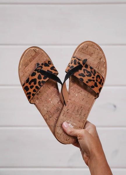 Summer Spectacular Sandals Leopard