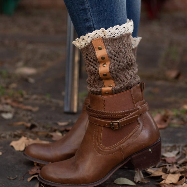 Trimmed Down Boot Cuffs *Final Sale*