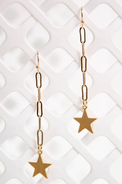 Twinkle Twinkle Earrings Gold