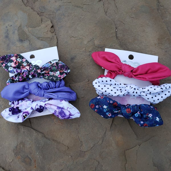 Scrunchie Small Bow (Set of 3)
