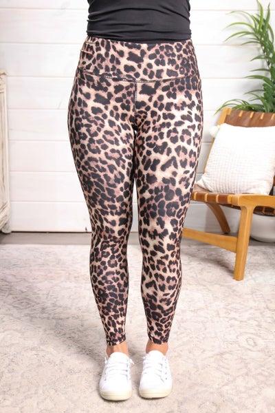 Call Me Sassy Leggings Classic Leopard