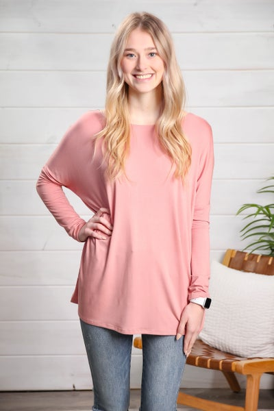 Humble Attitude Top Mauve