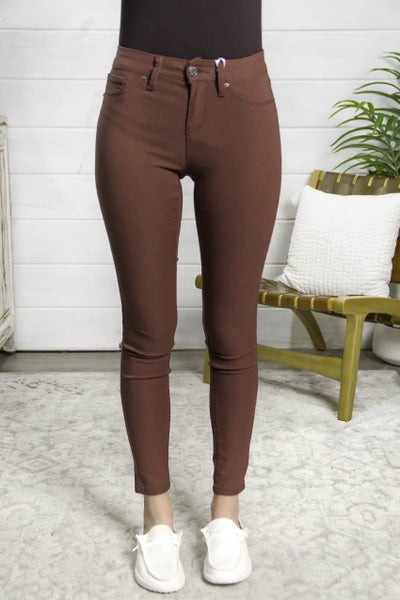 Hyperstretch Jeggings Cocoa