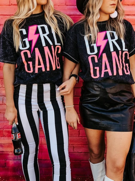 Girl Gang Mineral Washed Tee