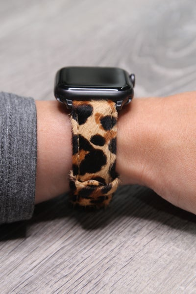 Apple Watch Band Hair On Leopard