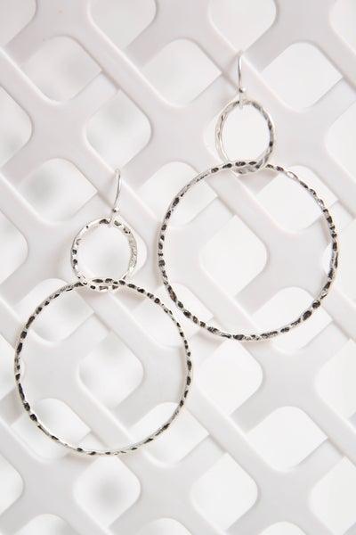 Faithful Soul Earrings Silver