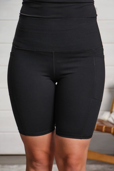 Try To Keep Up Bike Shorts