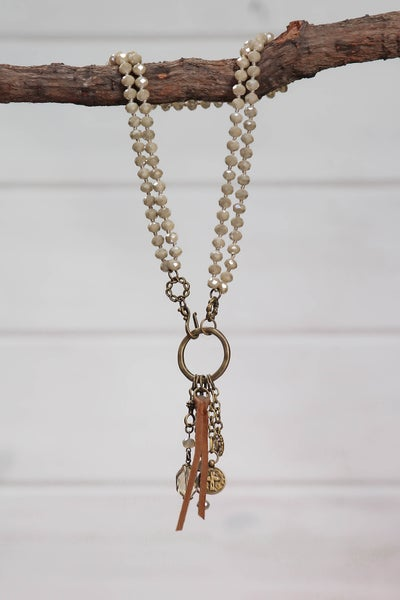 Oh So Charmed Necklace Cream