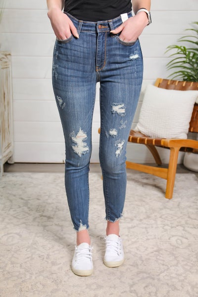 Chase A Dream High Rise Skinny Fit Jeans