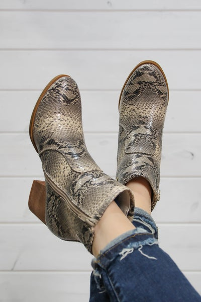 Just Fancy Enough Reptile Booties
