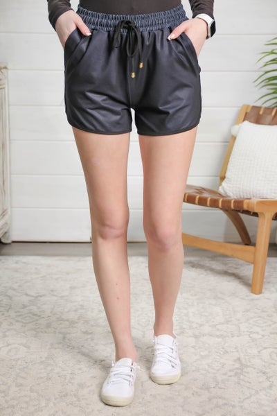 Sporty Girl Shorts Black