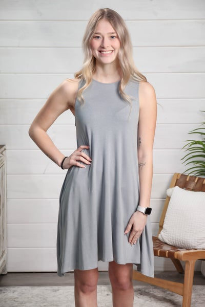 Feel The Sunshine Dress Dusty Mint