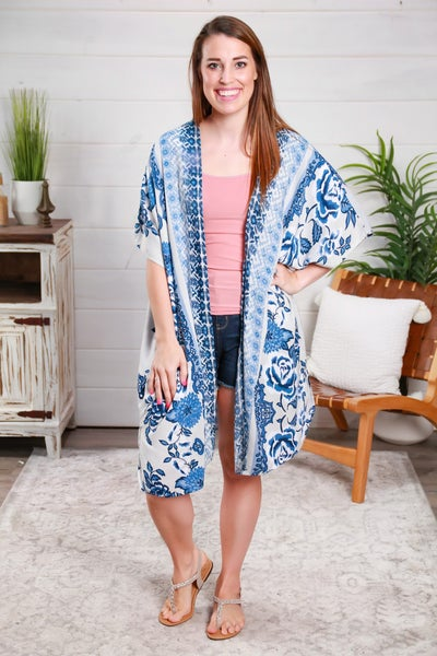 Just You Wait Kimono *Final Sale*