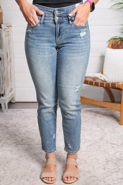 Double The Fun High Waist Jeans *Final Sale*