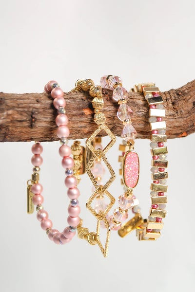 Erimish Stack Annie Pink Extended