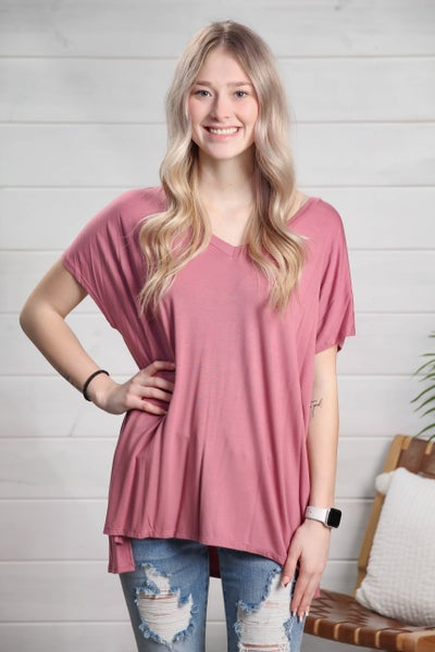 Sweet Intentions Top Mauve