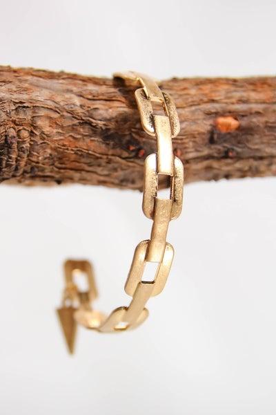 Erimish Kira Chain Cuff Gold