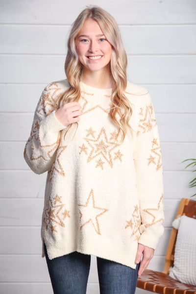 The Perfect Star Sweater *Final Sale*