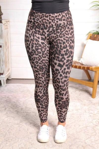 Call Me Sassy Leggings Leopard