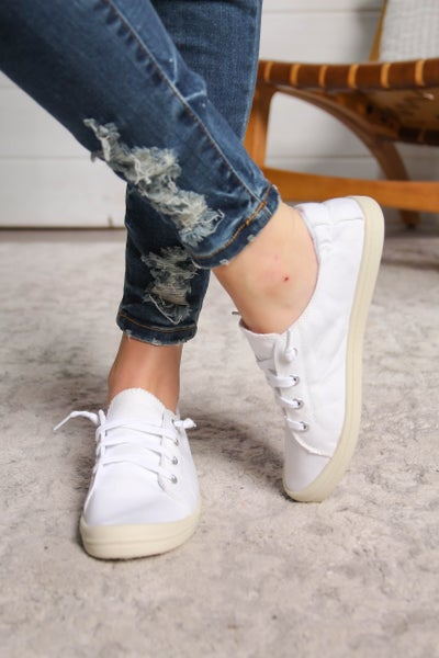 Jelly Bean Sneakers White