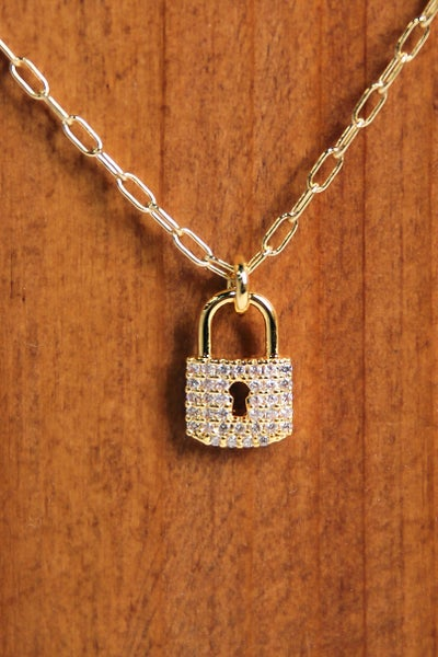 Secret To Share Necklace Gold