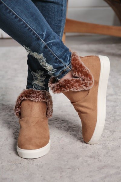 Perfectly Plush Boots Tan *Final Sale*