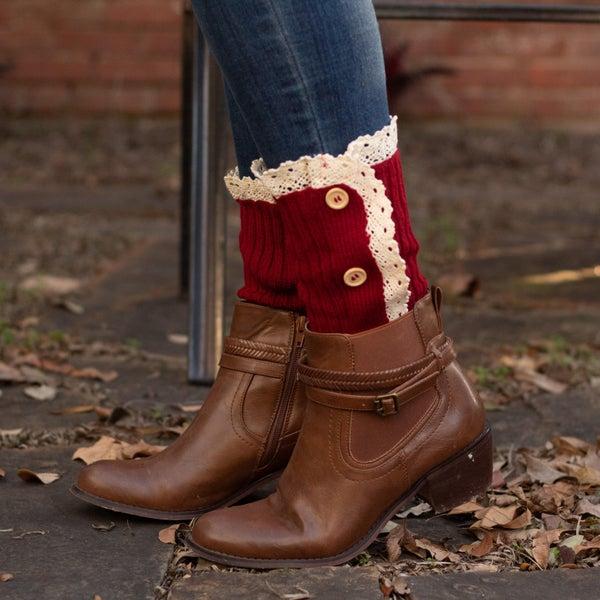 Button Up Boot Cuffs *Final Sale*