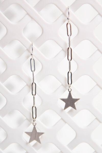 Twinkle Twinkle Earrings Silver