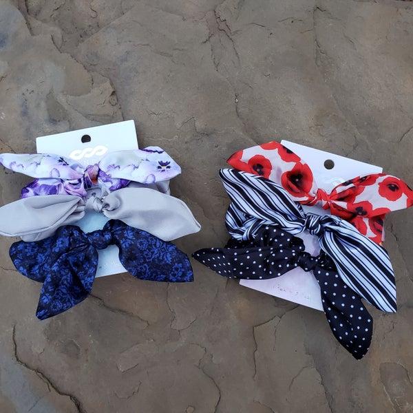 Scrunchie Regular Bow (Set of 3)