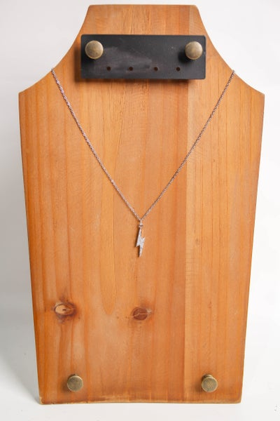 Flash Necklace Silver