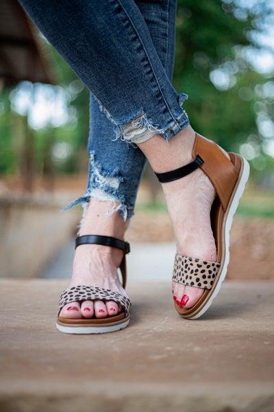 Starling Sandals Leopard *Final Sale*