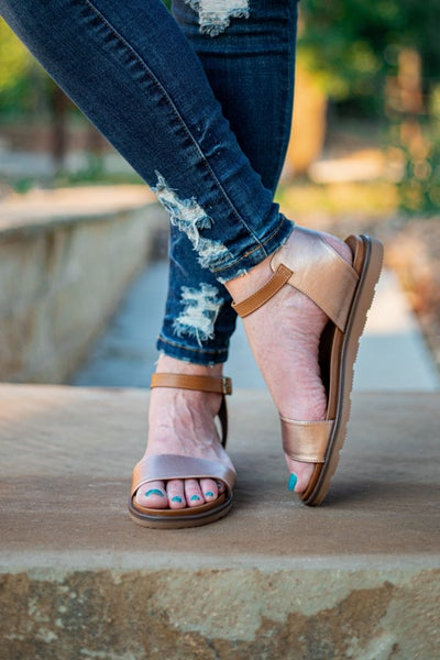 Starling Sandals Rose Gold *Final Sale*