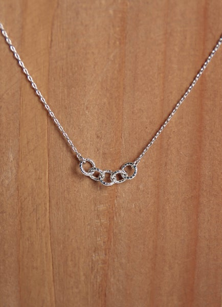 Linked In Necklace Silver