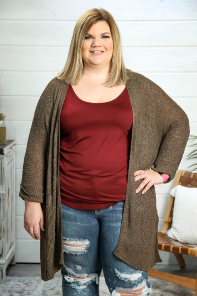 This is Love Cardigan Olive *Final Sale*