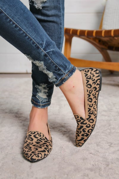 You Get the Point Flats Leopard *Final Sale*