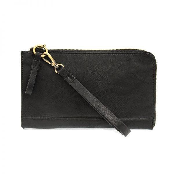 So Chic Convertible Wristlet & Wallet Black
