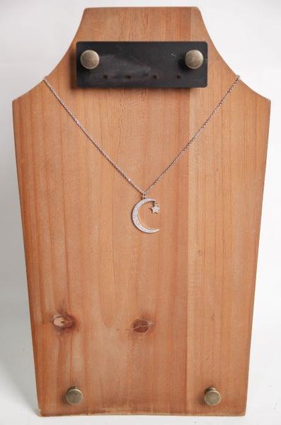 Midnight Sky Necklace Silver