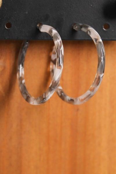 Hoop There It Is Earrings